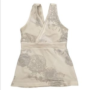 Lululemon Deep V Tank Top Light Floral
